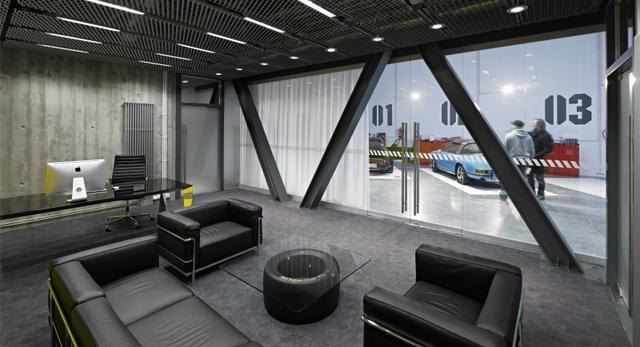 wn trza biurowe zobacz jak urz dzi biuro w stylu gara u mid century silverlake ca industrial home office